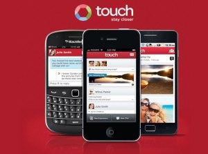 L'application touch.com.