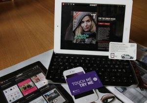 Touchcode: du magazine papier Icon à l'application Iconist.