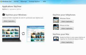 Un utilitaire SkyDrive pour PC, Mac, Windows Phone et iOS.