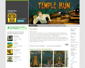 Temple Run: des millions de téléchargements sur des centaines d'appareils différents pour une expérience utilisateur optimale...