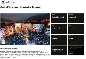 Swisscom veut récompenser la création nomade.
