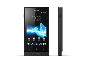 Le Sony Xperia Sola avec floating touch!