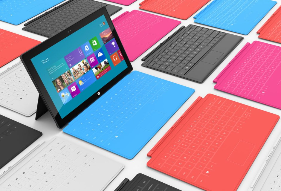 La tablette Microsoft Surface.