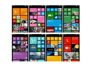 Windows Phone 8: Microsoft dépense toujours beaucoup d'énergie sur l'écran d'accueil...