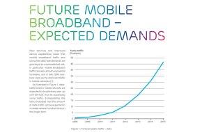 4G - LTE: l'explosion de la bande passante extrapolée par Ericsson.