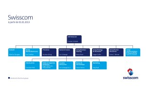 La direction de Swisscom.