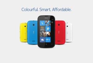 Nokia Lumia 510 pour l'entrée de gamme.
