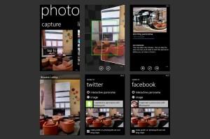 L'application Photosynth de Microsoft.