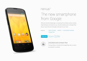 Le Nexus 4 de Google doit terroriser les opérateurs...