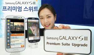 La mise à jour Premium Suite pour le Galaxy SIII conforte Samsung dans son rôle de leader sur le marché du smartphone.