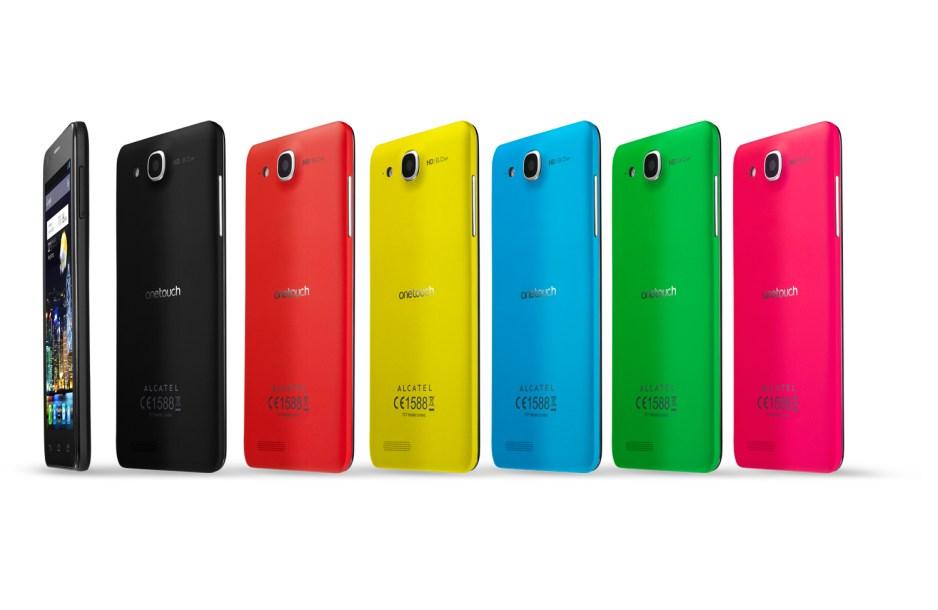 Alcatel lance le smartphone le plus fin du monde: le OneTouch Idol Ultra.