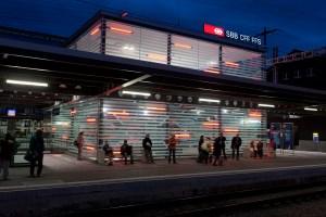 La gare d'Olten. Photo: CFF.