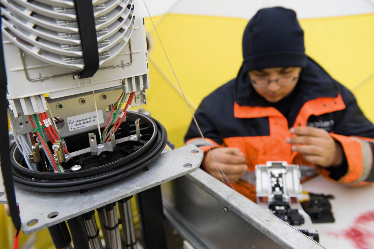 Swisscom continue d'investir dans la fibre au niveau national.