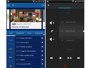 Swisscom TV pour Android.