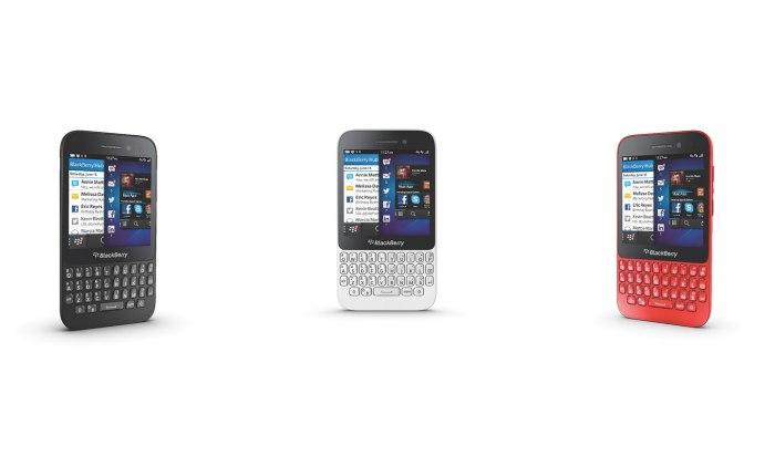 Le nouveau BlackBerry Q5.