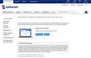 Optimisez votre wi-fi avec l'utilitaire de Swisscom.