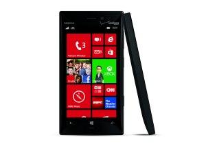 Le Nokia Lumia 928 noir pour Verizon.