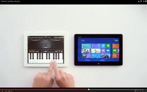 L'iPad permet de pianoter maladroitement, selon Microsoft...
