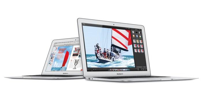 Les nouveaux MacBook Air: toujours aussi magnifiques avec une autonomie pouvant grimper à 12 heures!