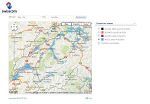 4G/LTE: Swisscom soigne la Suisse romande.