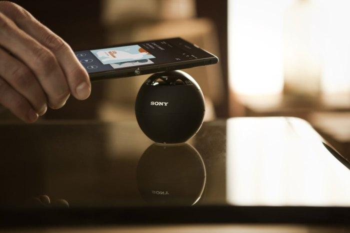 Le gigantesque Sony Xperia Z Ultra, évidemment NFC pour une grande facilité d'utilisation.