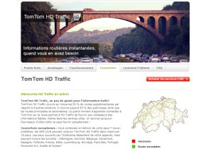Tom Tom HD Traffic: en service depuis 2008 en Suisse...