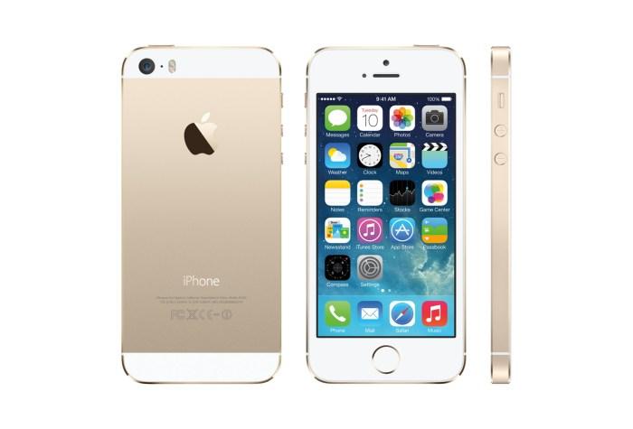 L'iPhone 5S d'Apple. Probablement l'une des références du moment.