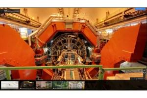 Google Street View nous propose la visite virtuelle des grandes expériences du CERN.