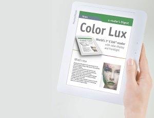 Un liseuse couleur éclairée pour 250 euros!