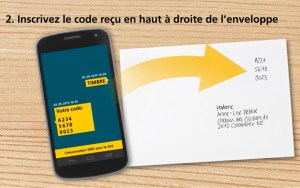 Le timbre par SMS: séduisant, mais hors de prix!