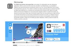 Dans plusieurs stations, Swisscom va proposer des courses de ski filmées à tous!