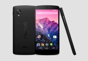Le LG Google Nexus 5.