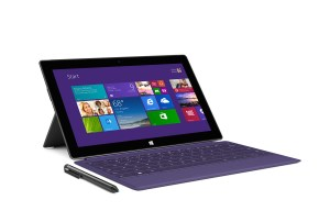 La Surface Pro 2 avec Windows 8.1...