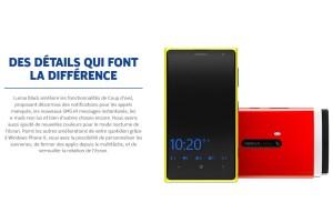 La mise à jour Nokia Lumia Black débarque largement en Suisse et en France.