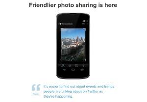 Twitter améliore le partage de photos.