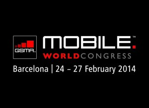 Le Mobile World Congress de Barcelone du 24 au 27 février 2014.
