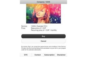 SMS surtaxés: Sunrise va lancer une page intermédiaire.