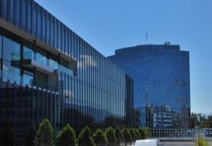 Le nouveau bâtiment de l'OMPI à Genève.