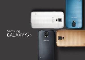 Samsung Galaxy S5: des couleurs mode.