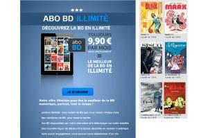 BD en illimité: l'offre d'Izneo.