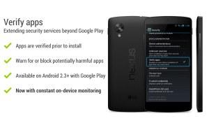 Android scanne en permanence les applications.