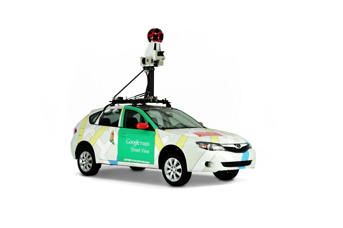 Street View Google Renvoie Les Voitures