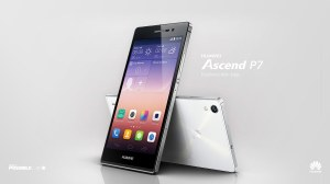 Le Huawei Asdcend P7.