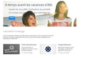 Roaming: Swisscom multiplie les annonces.