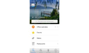 La nouvelle application de local.ch est plus sympa sur iPhone.
