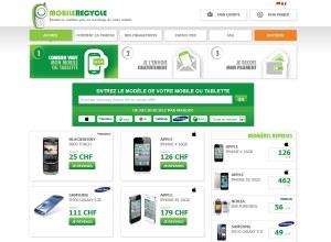 MobileRecycle reprend vos téléphones inutilisés.