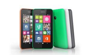 Le Microsoft Nokia Lumia 530.