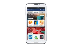 Le Samsung Galaxy Apps Store.