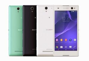 """""""Mode des selfies"""": le Sony Xperia C3 tire son épingle du jeu."""
