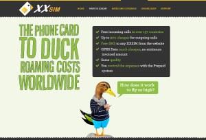 XXSIM pour maîtriser son roaming dans certains pays.